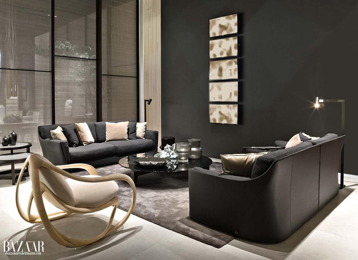 Dòng sofa VITTORIA do nhà thiết kế nội thất Carlo Colombo lên ý tưởng
