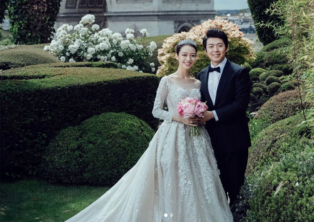 Bộ ảnh cưới của Lang Lang và vợ chụp tại Pháp