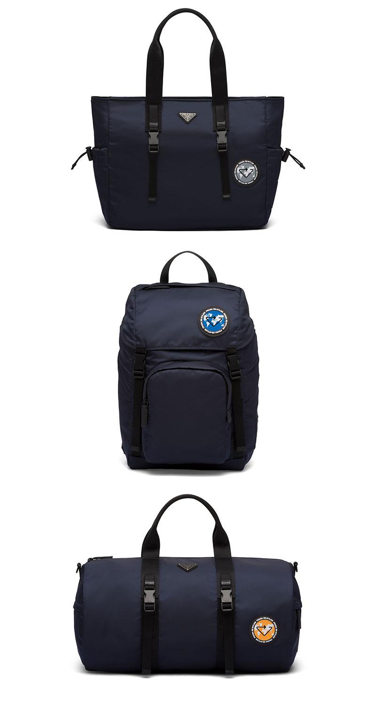 Các mẫu thiết kế cho nam gồm túi tote, balo đứng để được laptop, và túi duffle tiện cho đi tập thể thao/đi du lịch