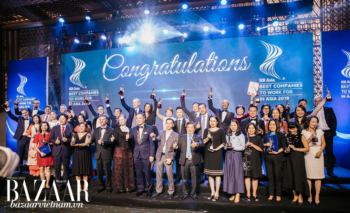 Lễ trao giải HR Asia 2019