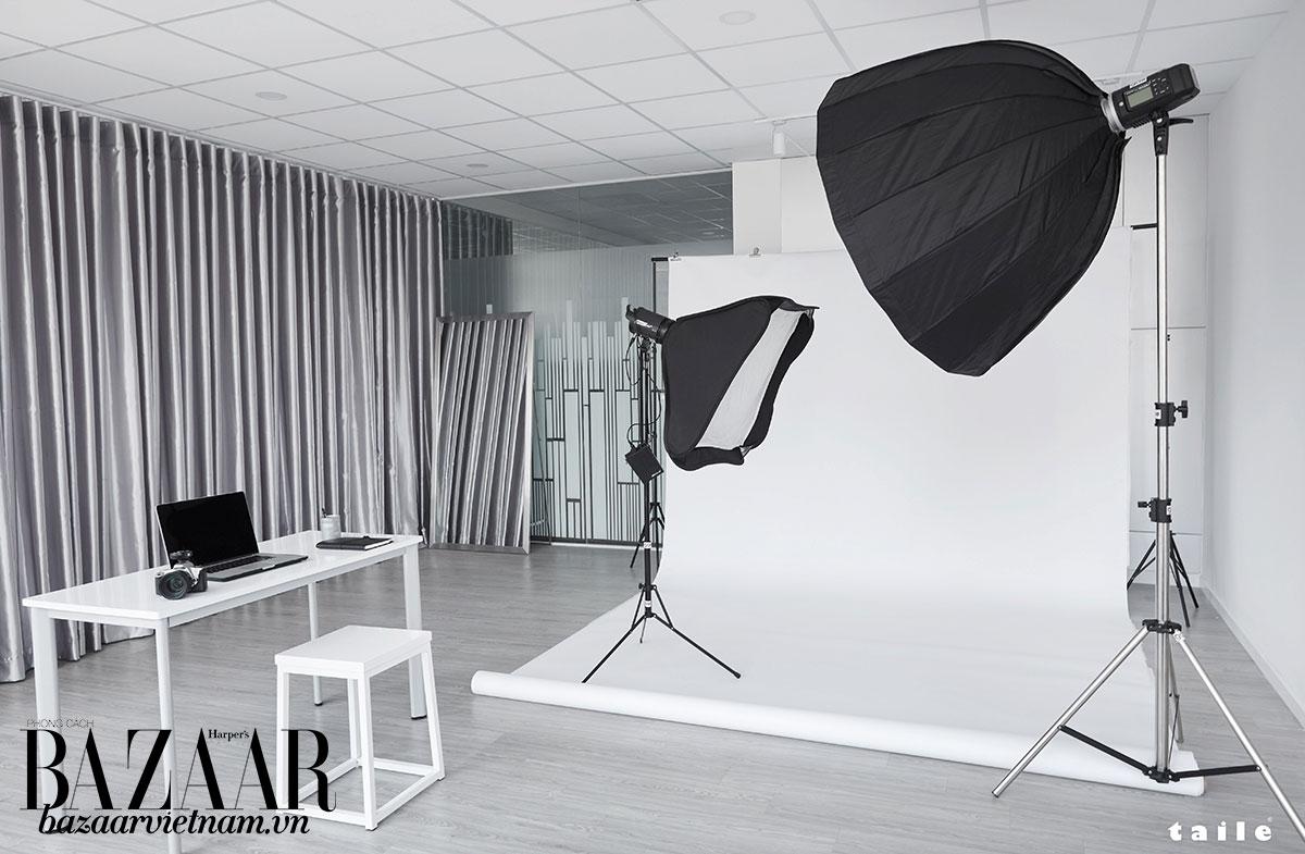 Phòng chụp ảnh riêng của studio