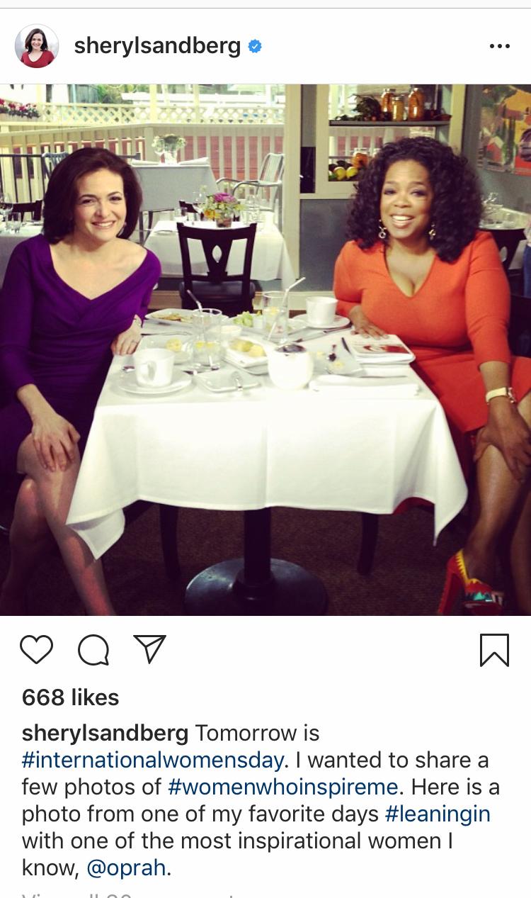 Rèn luyện kỹ năng lãnh đạo - Sheryl Sandberg & Oprah Winfrey