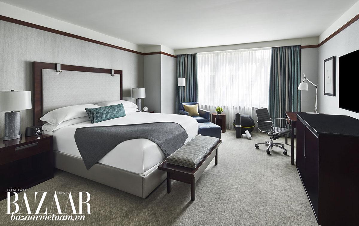 Một căn phòng Wellness Room đầy đủ tiện ích nghỉ dưỡng cho những ai không có thời gian rời khỏi công việc quá lâu