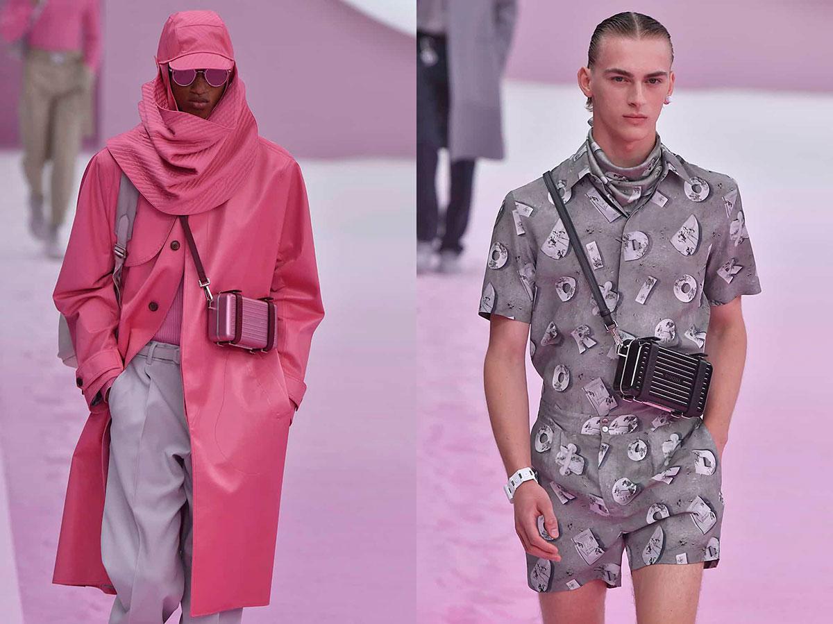Những chiếc túi đeo chéo người mini