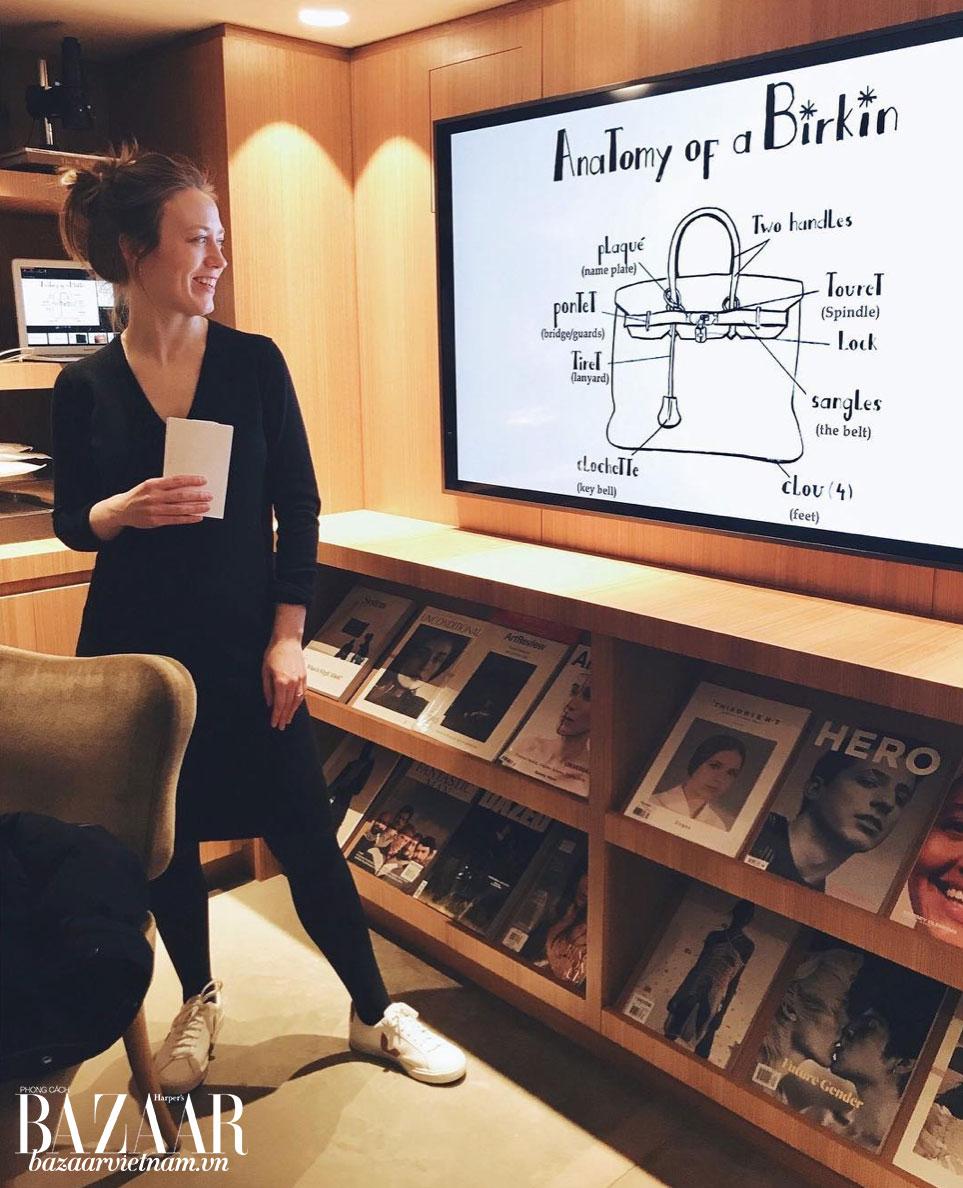 Một chuyên gia giám định giải thích về cách nhận diện túi Birkin của Hermès