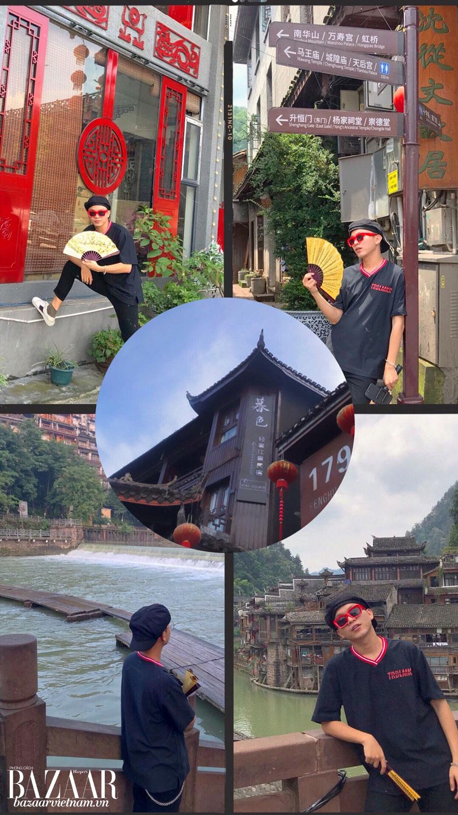Du lịch Phượng Hoàng Cổ Trấn cùng Nguyễn Duy An