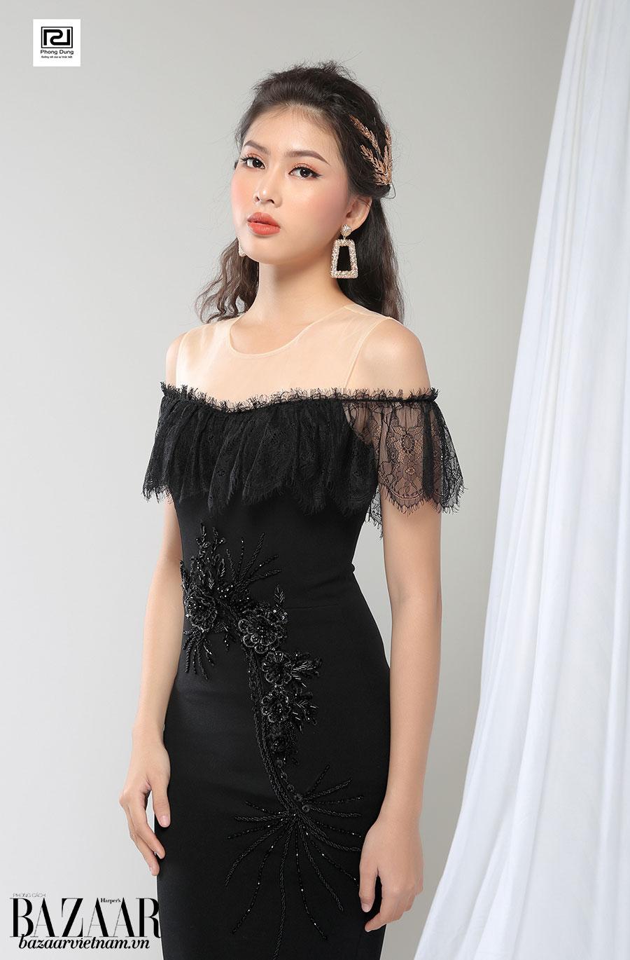 Phong Dung có thể tư vấn các mẫu đầm theo sở thích cũng như phong cách của người mặc