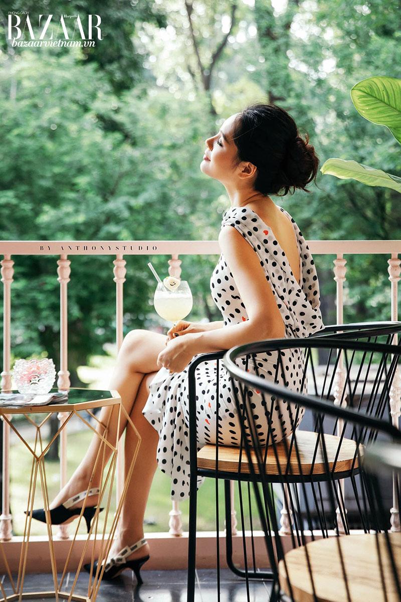 Hoa hậu Hương Giang luôn đắm mình trong thiên nhiên mỗi cuối tuần để làm mới bản thân
