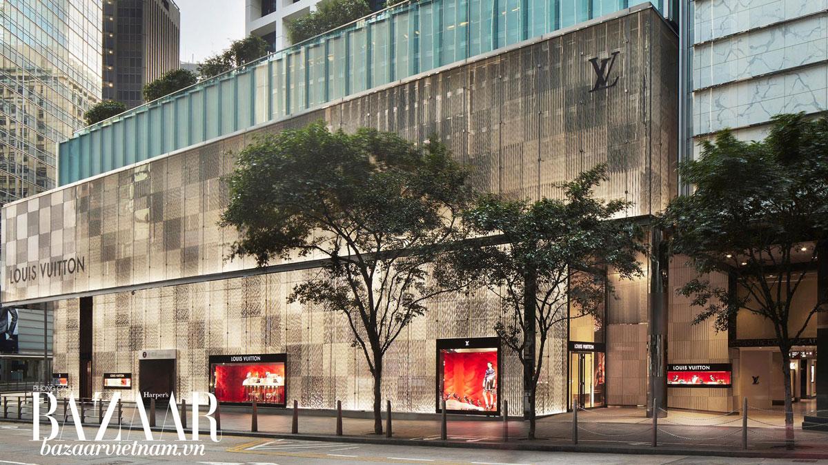 Cửa hàng Louis Vuitton ở Hồng Kông. Ảnh: Louis Vuitton
