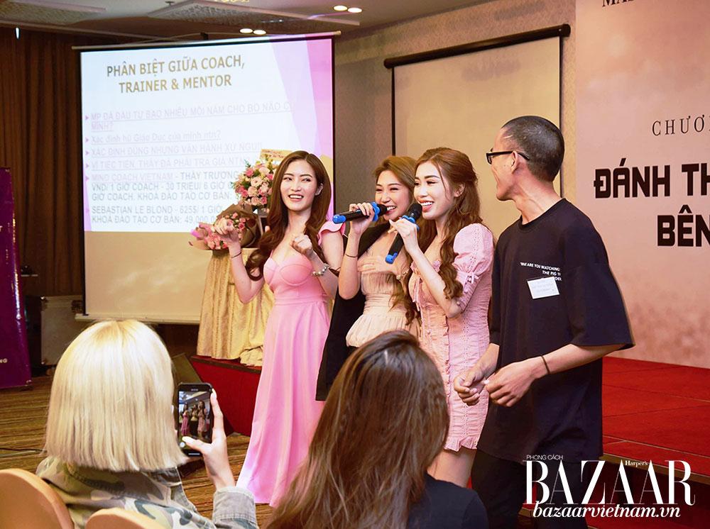 Khổng Tú Quỳnh, Pinky Bảo Trân chia sẻ về kinh nghiệm cá nhân tại khóa học Master Phuong