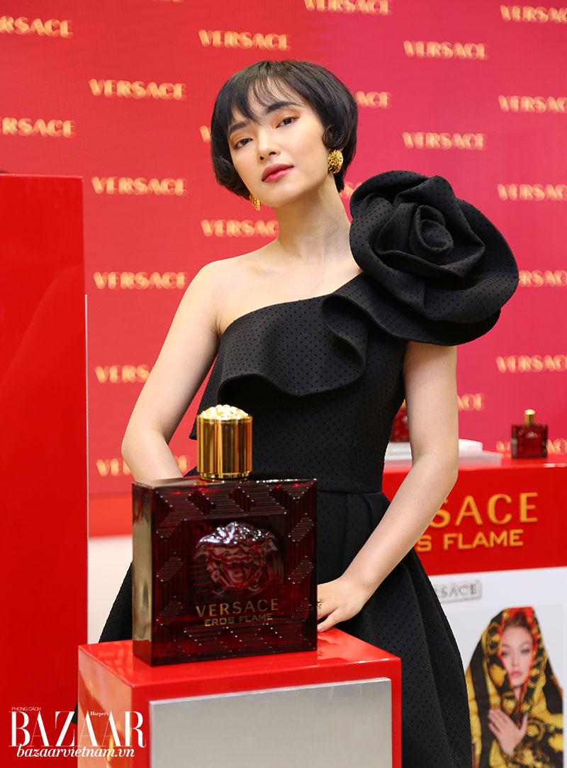 Châu Bùi - nước hoa Versace Eros Flame