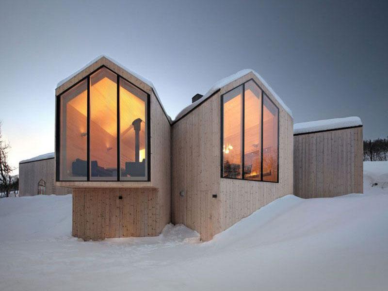 Các thiết kế mang phong cách Bắc Âu đương đại ưu tiên các chi tiết tạo độ ấm cho không gian sống.