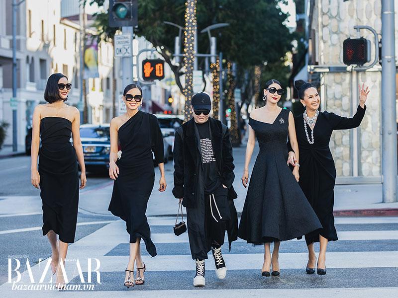 Dàn mỹ nhân Việt thu hút mọi ánh nhìn khi dạo phố trong trang phục Đỗ Mạnh Cường