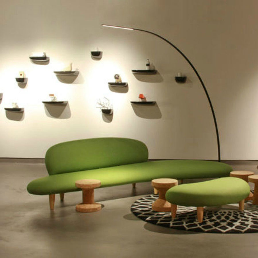 Ghế sofa Freeform do Isamu Noguchi thiết kế. Ảnh: Vitra