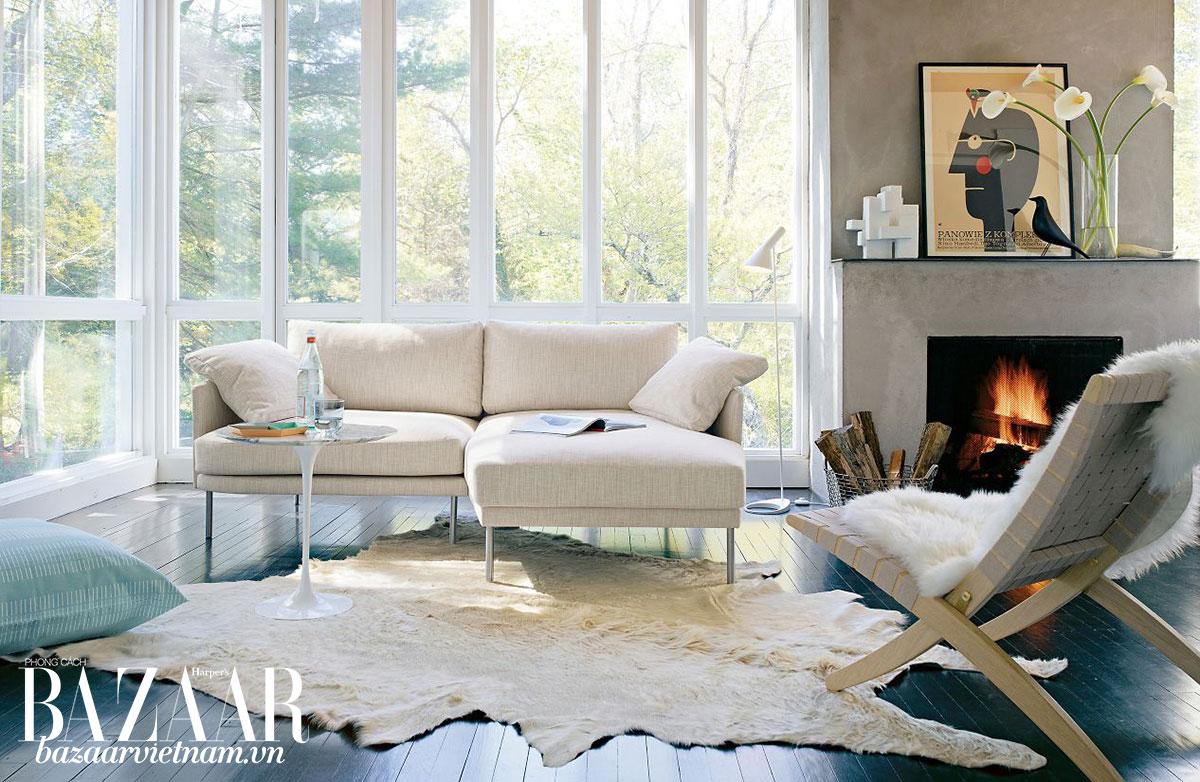 Design Within Reach (DWR) là một lựa chọn cao cấp cho những người muốn tìm nội thất mid-century modern.