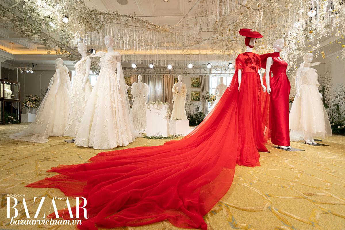 BST váy cưới Espoir lần đầu tiên trình diễn tại tuần lễ thời trang cưới New York