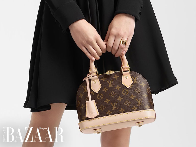 Da vachetta mà Louis Vuitton sử dụng là loại da thuộc thực vật chưa được nhuộm