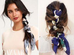 Những kiểu tóc đi chơi đáng yêu nhất: Tết tóc