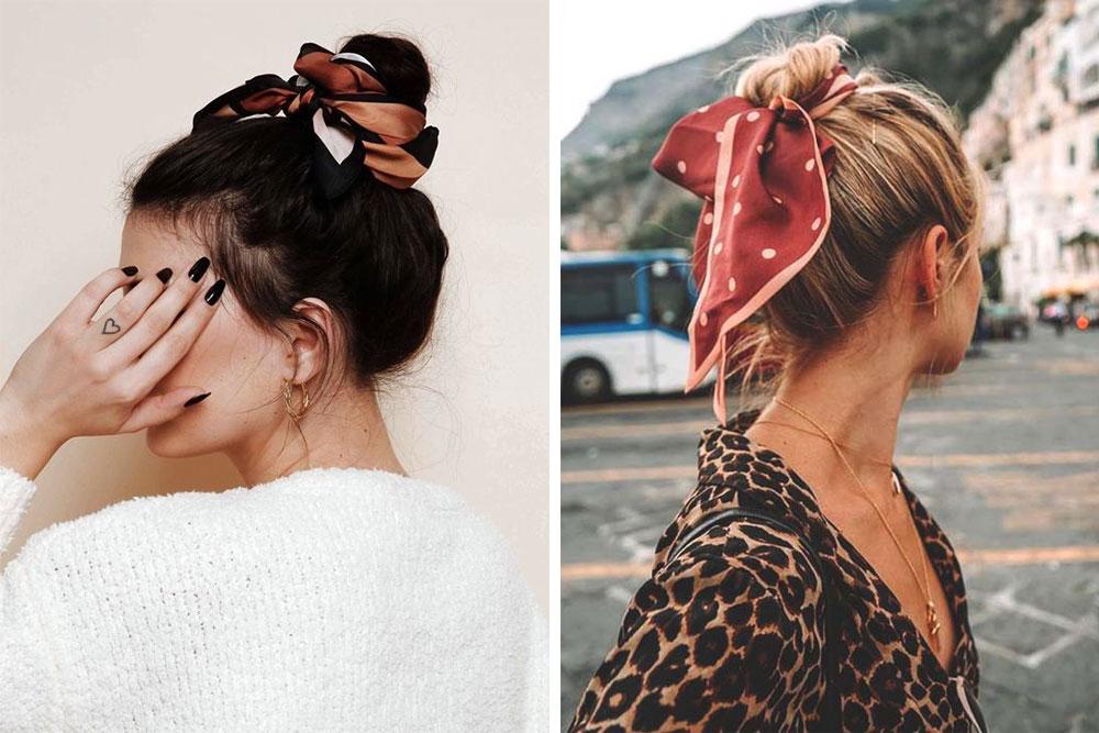 9 cách tạo kiểu tóc với khăn cho ngày tóc rối 15