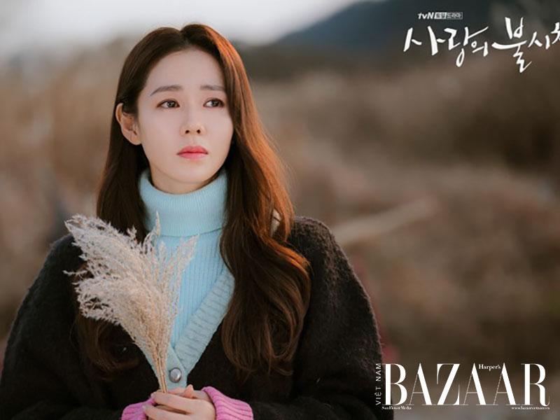 """Son Ye Jin mang mặt mộc đi đóng phim """"Hạ cánh nơi anh"""" 3"""
