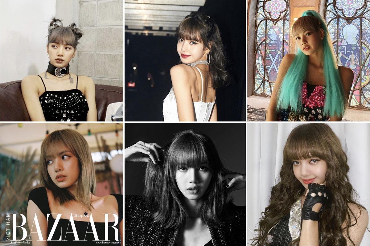 Làm sao để tạo kiểu tóc mái đẹp như Blackpink Lisa 1