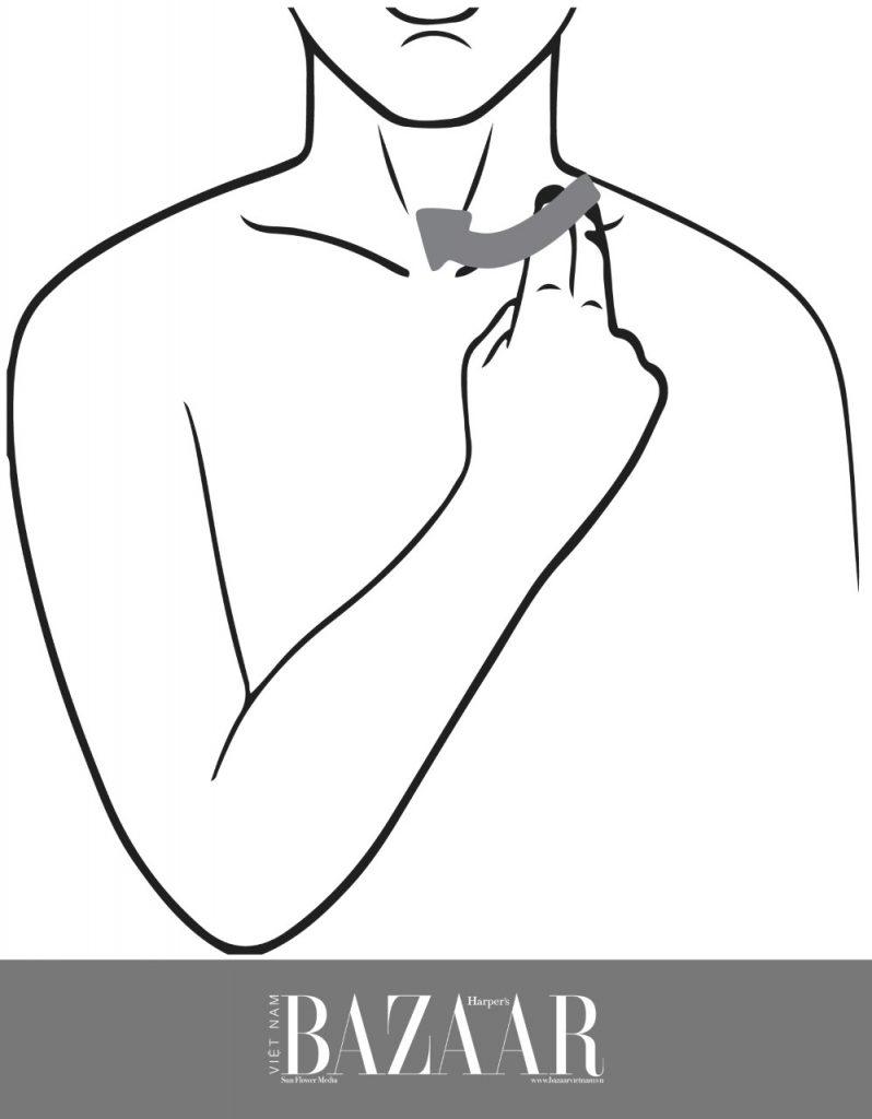 4 thao tác mát xa thải độc cho cơ thể | Mát-xa hệ bạch huyết 3