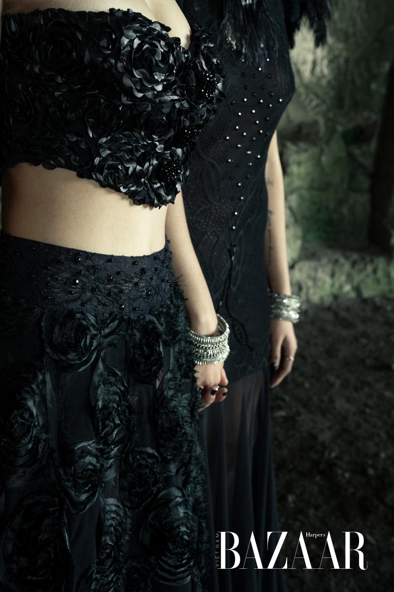 Tình đen bạc và cách phối đồ theo phong cách Goth 07