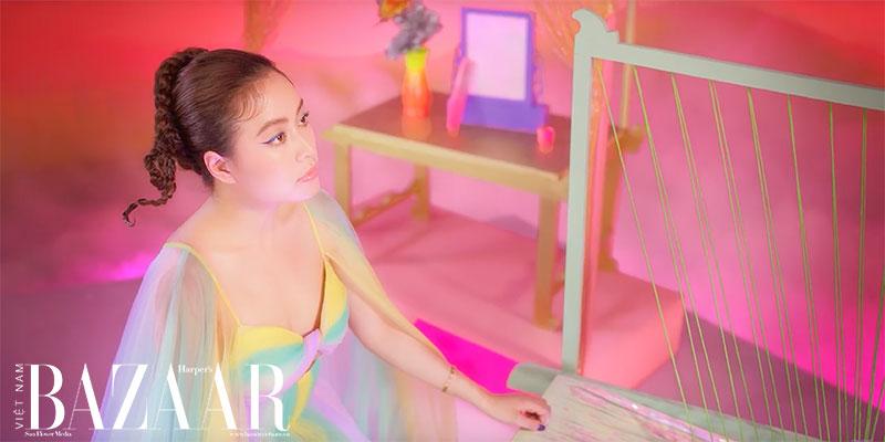 Makeup mùa hè rực rỡ như Hoàng Thùy Linh trong MV Kẻ cắp gặp bà già 3