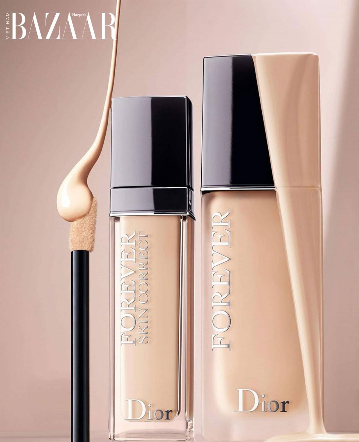 Dior ra mắt kem che khuyết điểm Forever Skin Correct có khả năng dưỡng da 3