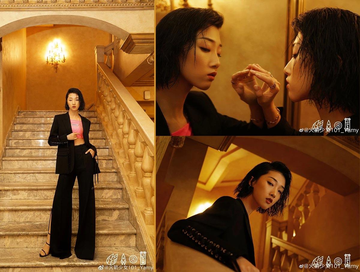 Cách tạo kiểu tóc ướt như Châu Bùi, Địch Lệ Nhiệt Ba, Kendall Jenner 5
