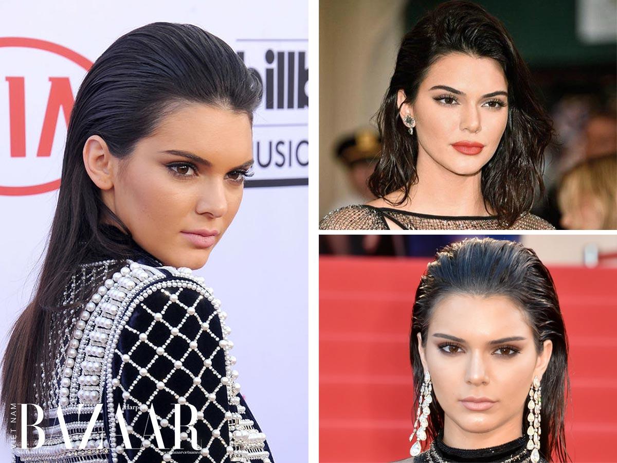 Cách tạo kiểu tóc ướt như Châu Bùi, Địch Lệ Nhiệt Ba, Kendall Jenner 6