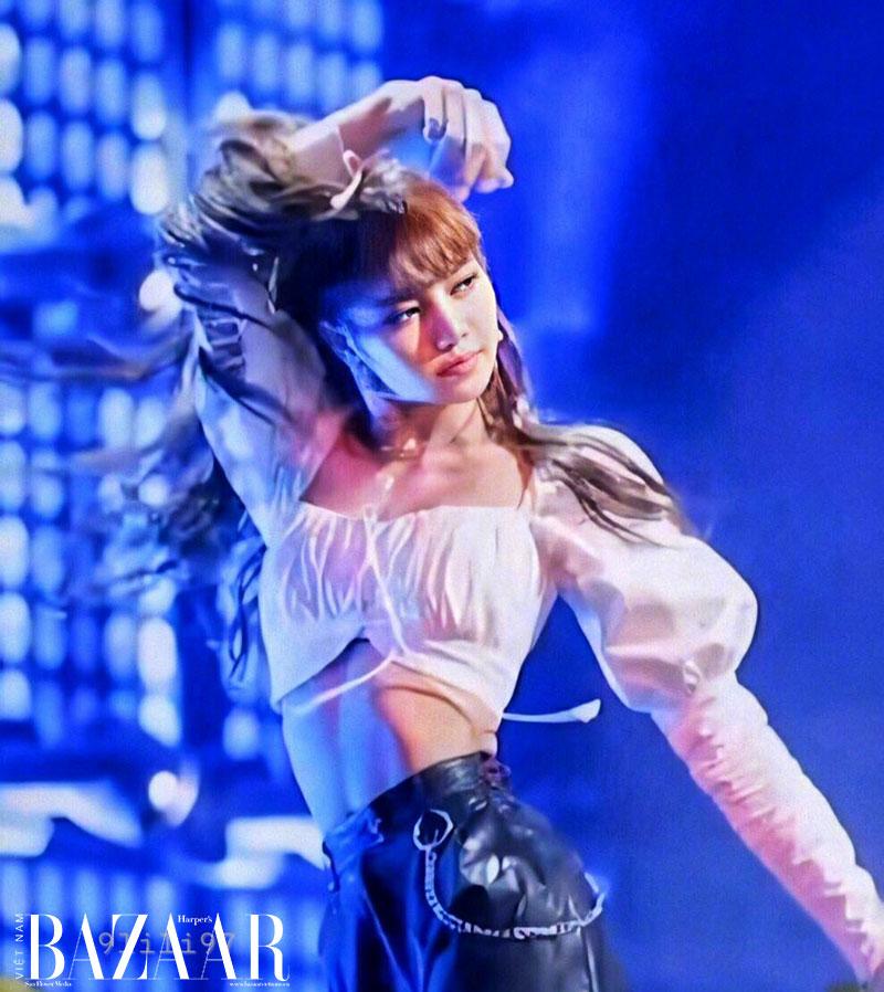 Lisa Blackpink, Krystal, HyunA tiết lộ cách sở hữu cơ bụng số 11 5