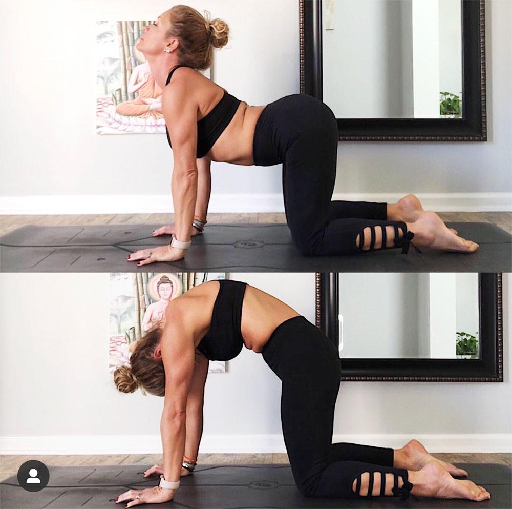 5 bài tập yoga giúp giảm đau thắt lưng đơn giản 5