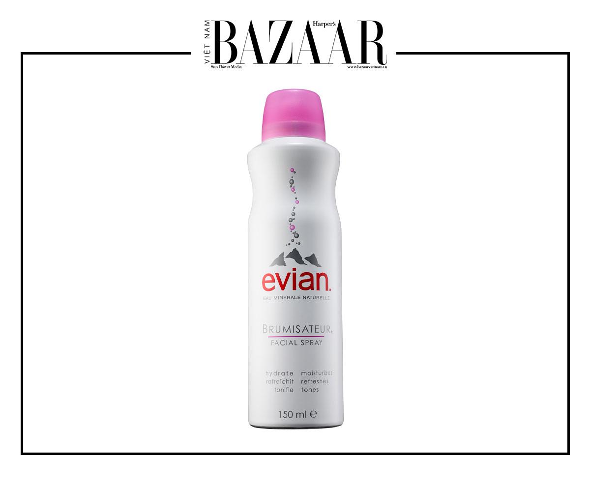 Xịt khoáng EVIAN Brumisateur Natural Mineral Water Facial Spray có tác dụng làm mát da
