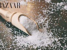 cách trị thâm quầng mắt bằng muối