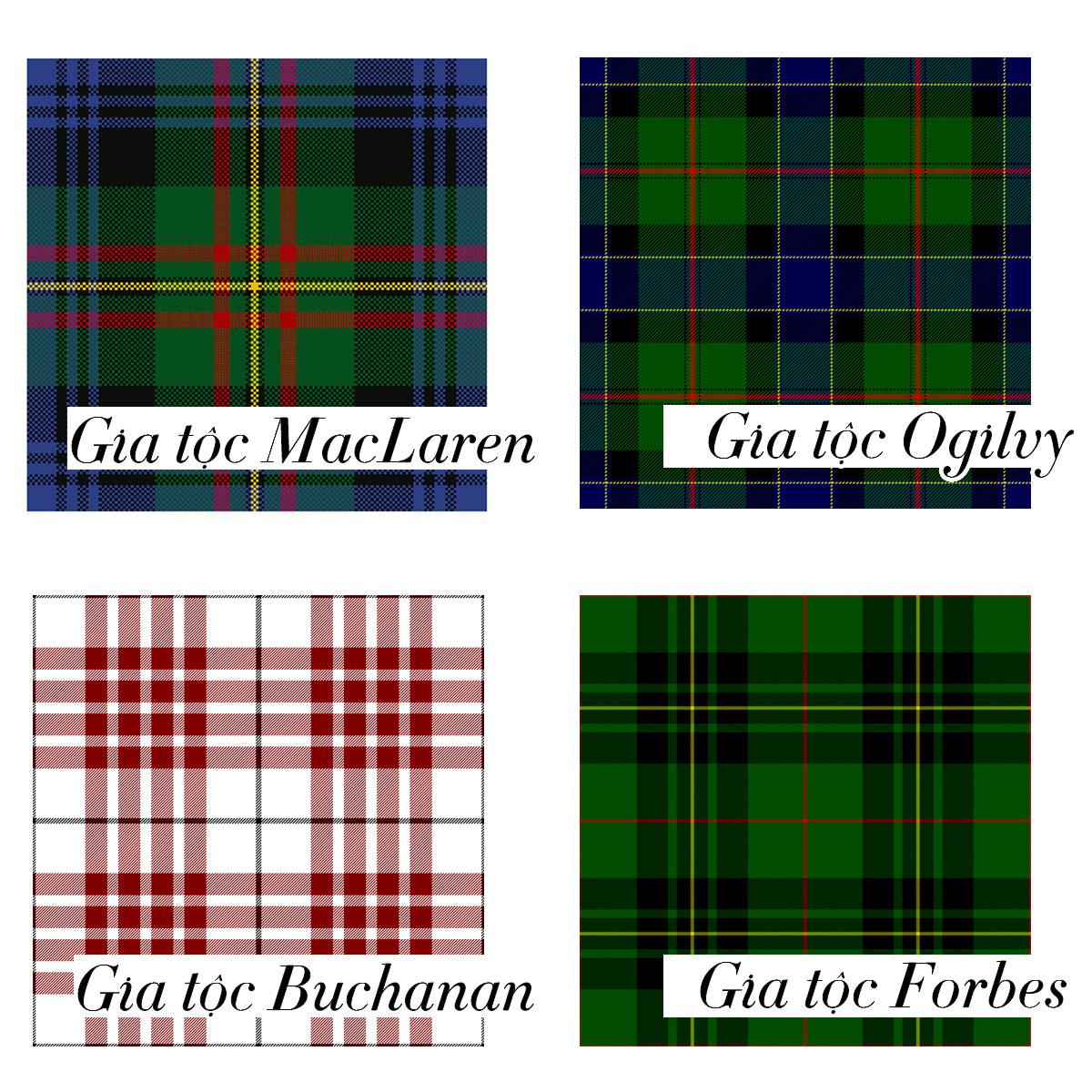 Lịch sử vải tartan: Từ chất liệu Scotland thành biểu tượng punk