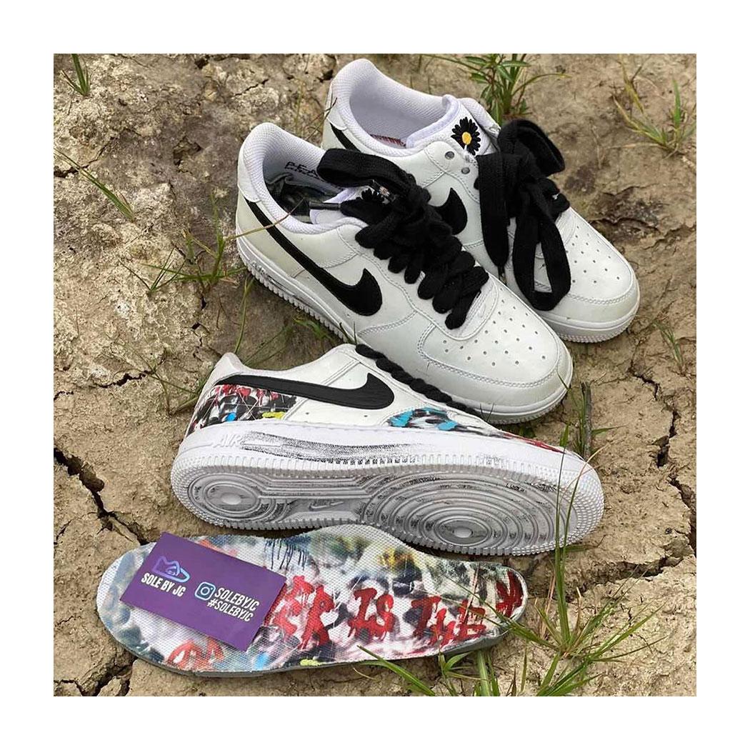 Giày Air Force 1 mà G-Dragon thiết kế cùng Nike ra mắt dịp tháng 09/2020