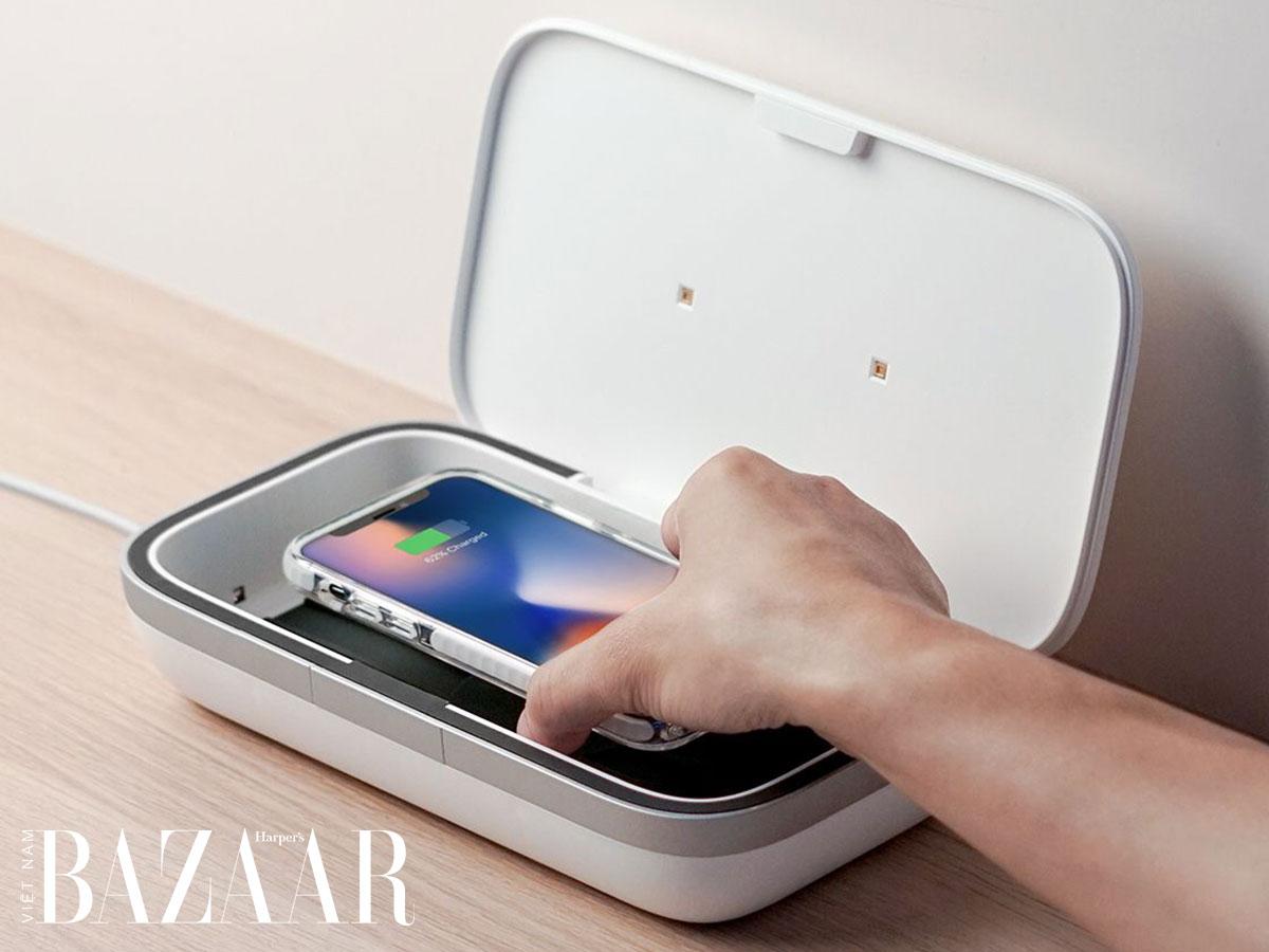Sát khuẩn điện thoại sao cho đúng cách? 2