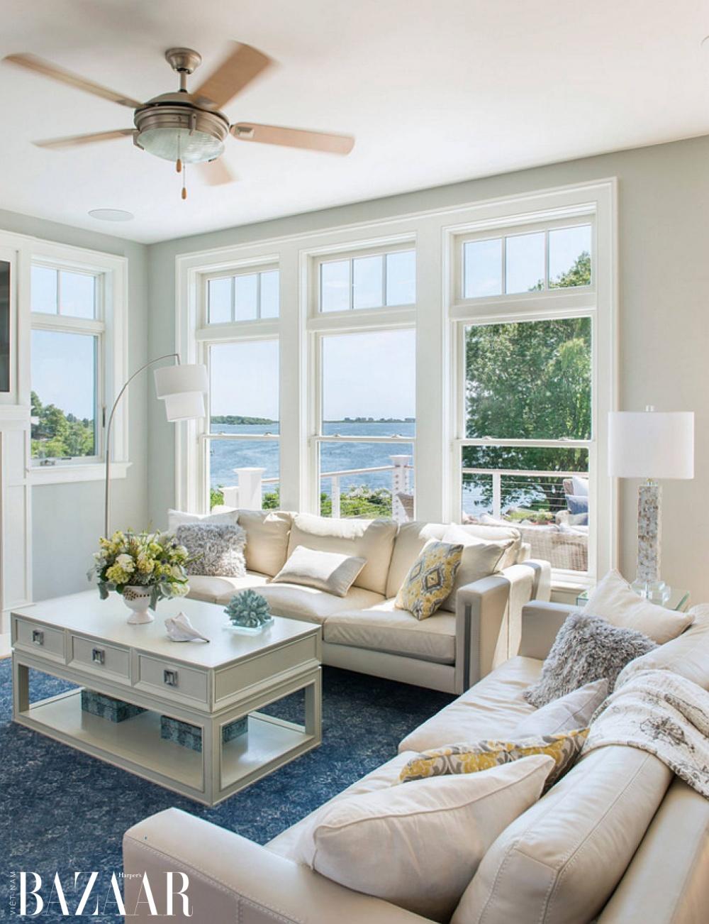Sofa phong cách ven biển