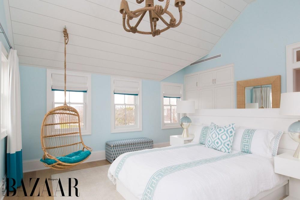 Phòng ngủ thiết kế theo phong cách coastal style