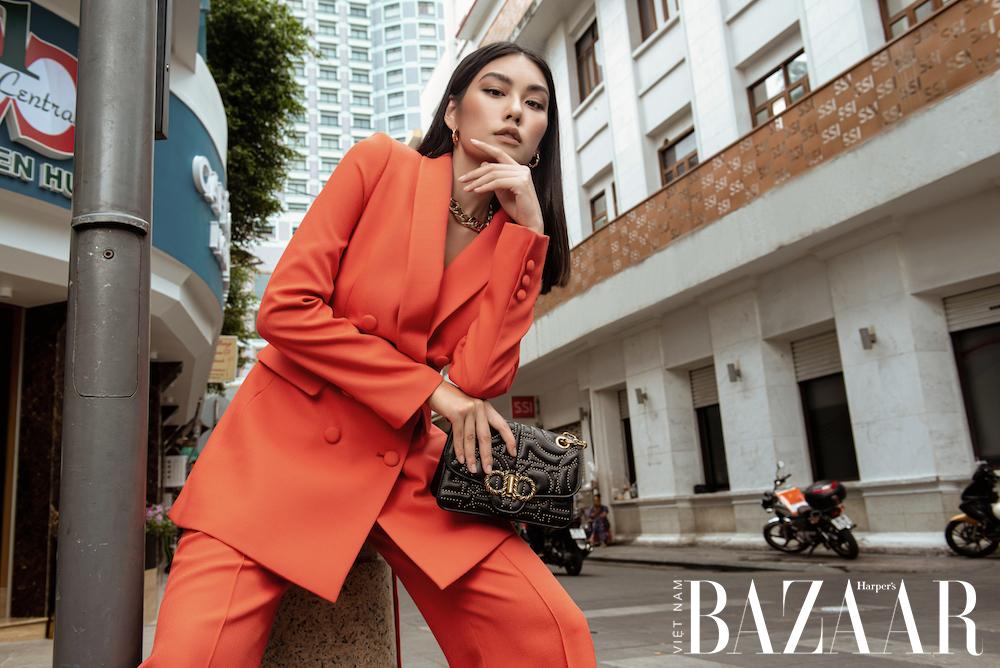 Cách mặc suit đến công sở thanh lịch như Jolie Nguyễn, Thảo Nhi Lê