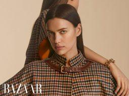 Siêu mẫu Nga Irina Shayk đối mặt với góc tối nội tâm trong BST Burberry Pre-Fall 2020