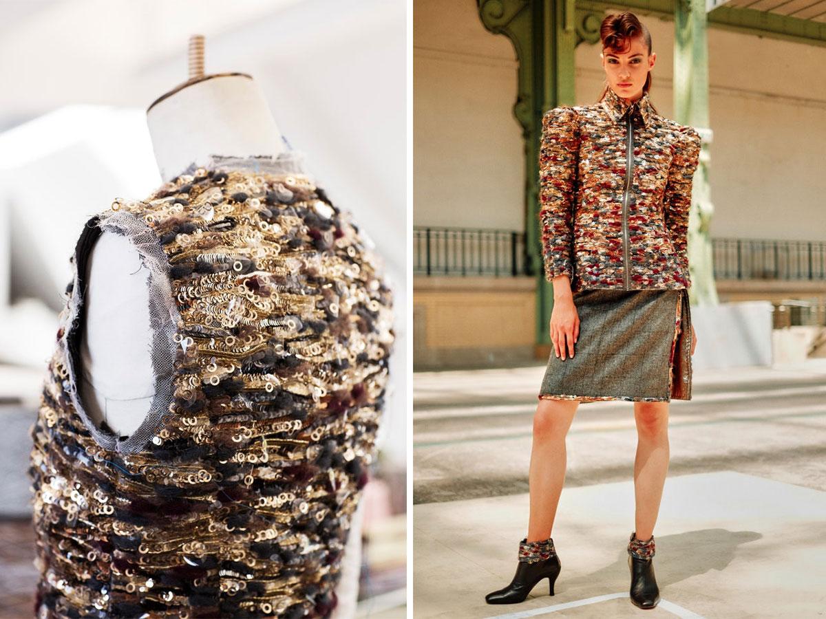 Lịch sử Haute Couture: Mẫu đính kết tốn 1000 tiếng đồng hồ của Chanel