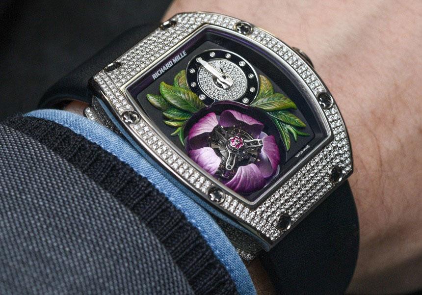 Đồng hồ tourbillon của Richard Mille, RM 19-02 Tourbillon Fleur