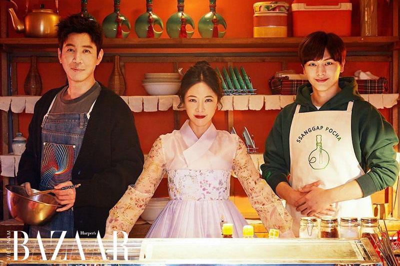 Hwang Jung Eum trong phim Mystic Pop Up Bar