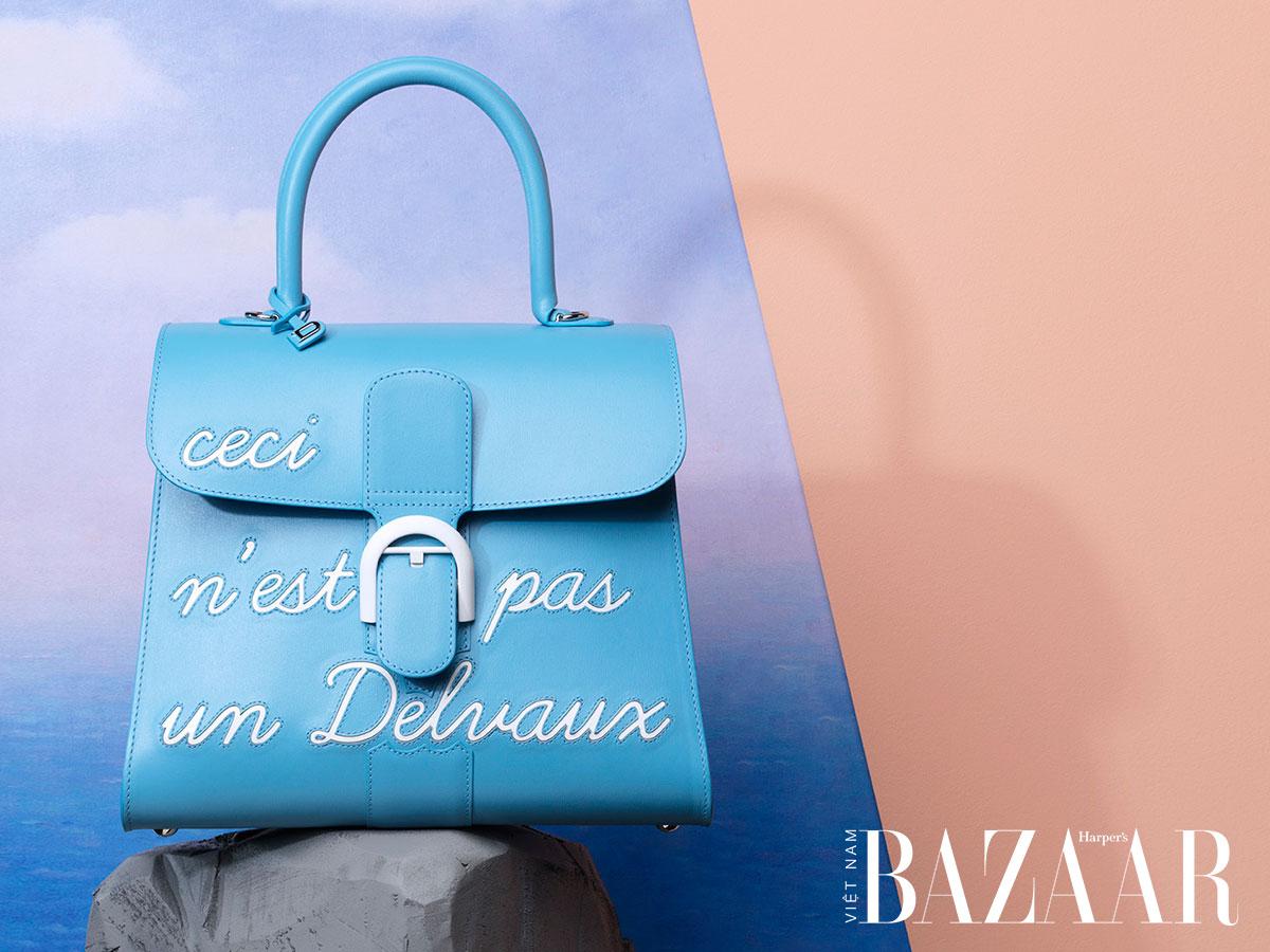 Dòng Brilliant, một trong những mẫu túi xách nổi tiếng nhất trong lịch sử Delvaux