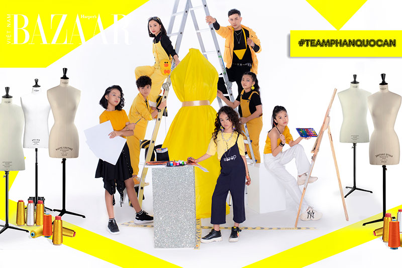 Nhà thiết kế tương lai nhí tập 4: Đội hình team Phan Quốc An