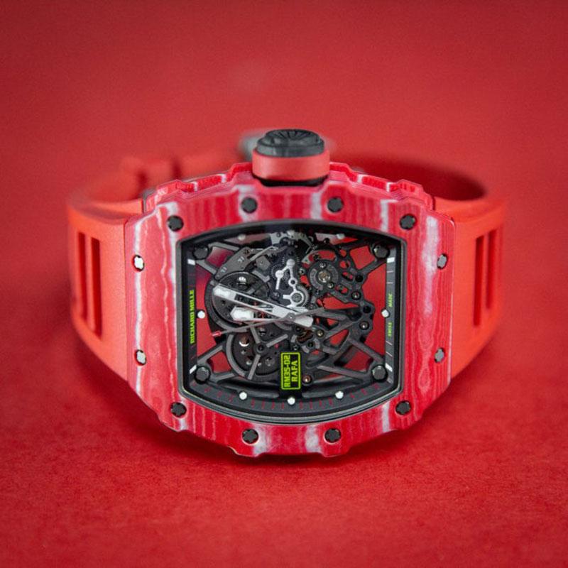Lịch sử Richard Mille: Mẫu RM 35 02 Automatic Rafael Nadal nổi bật với thiết kế đậm chất thể thao