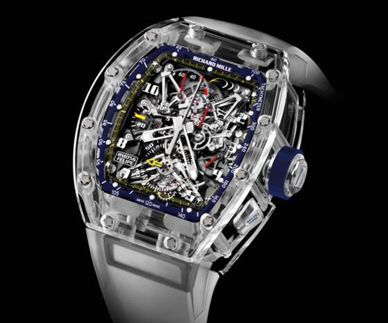Lịch sử Richard Mille: Chiếc đồng hồ RM 56-01 phiên bản giới hạn chỉ 5 chiếc, có giá 1,8 triệu euro