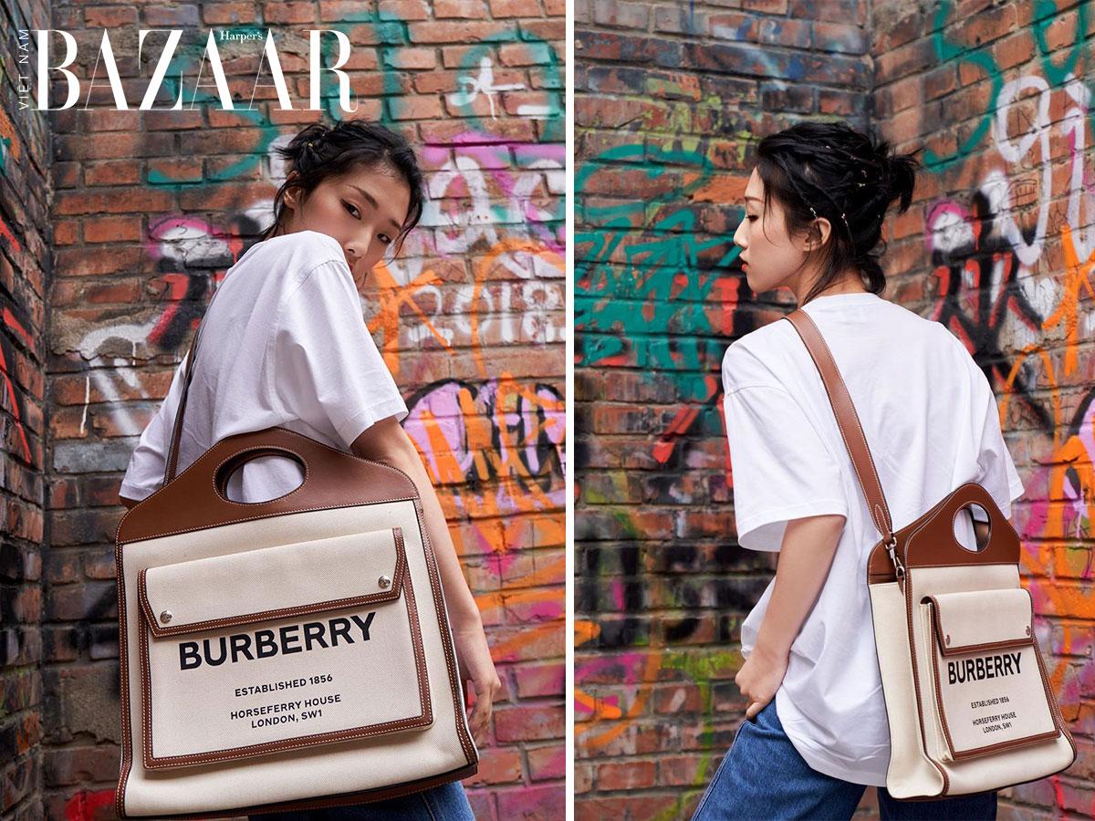 Vì sao túi xách Burberry Pocket Bag sẽ là It Bag mới của Burberry